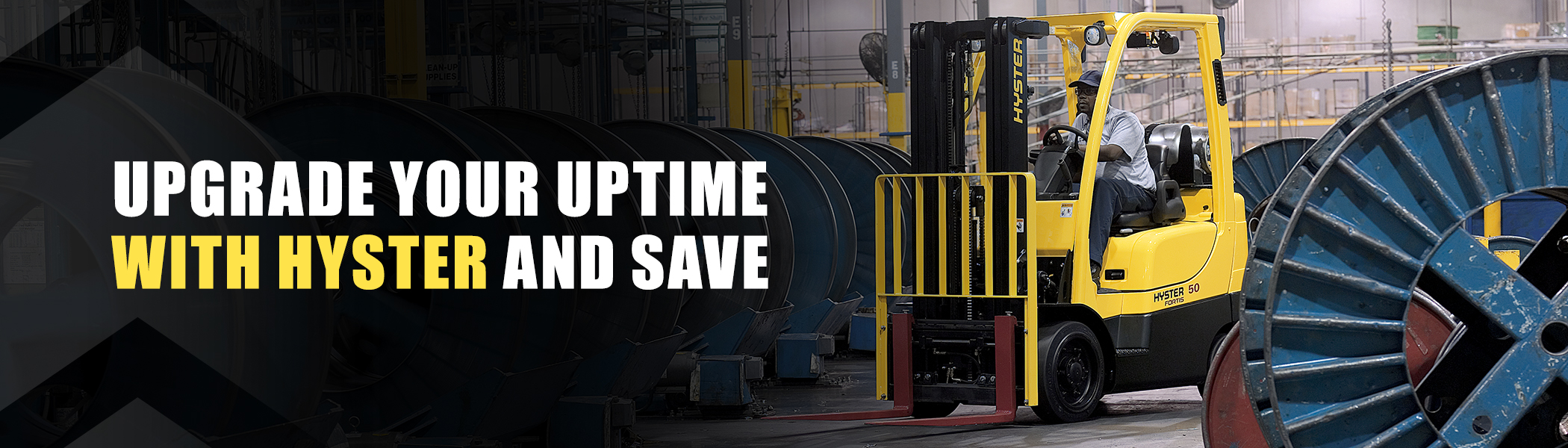 Upgrade your uptime with Hyster and save