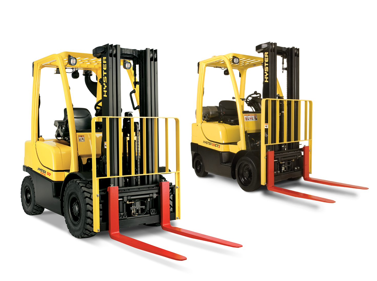 Hyster ICE Cushion and Pneumatic Tire Forklifts