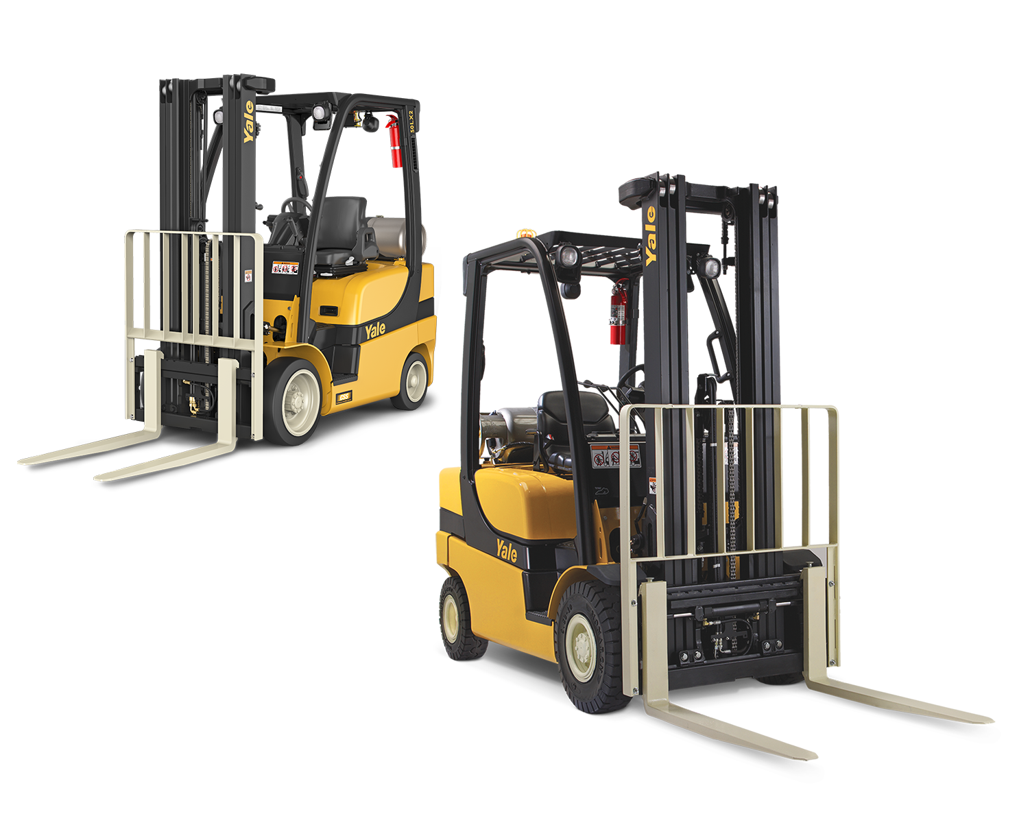 Yale ICE Cushion and Pneumatic Tire Forklifts