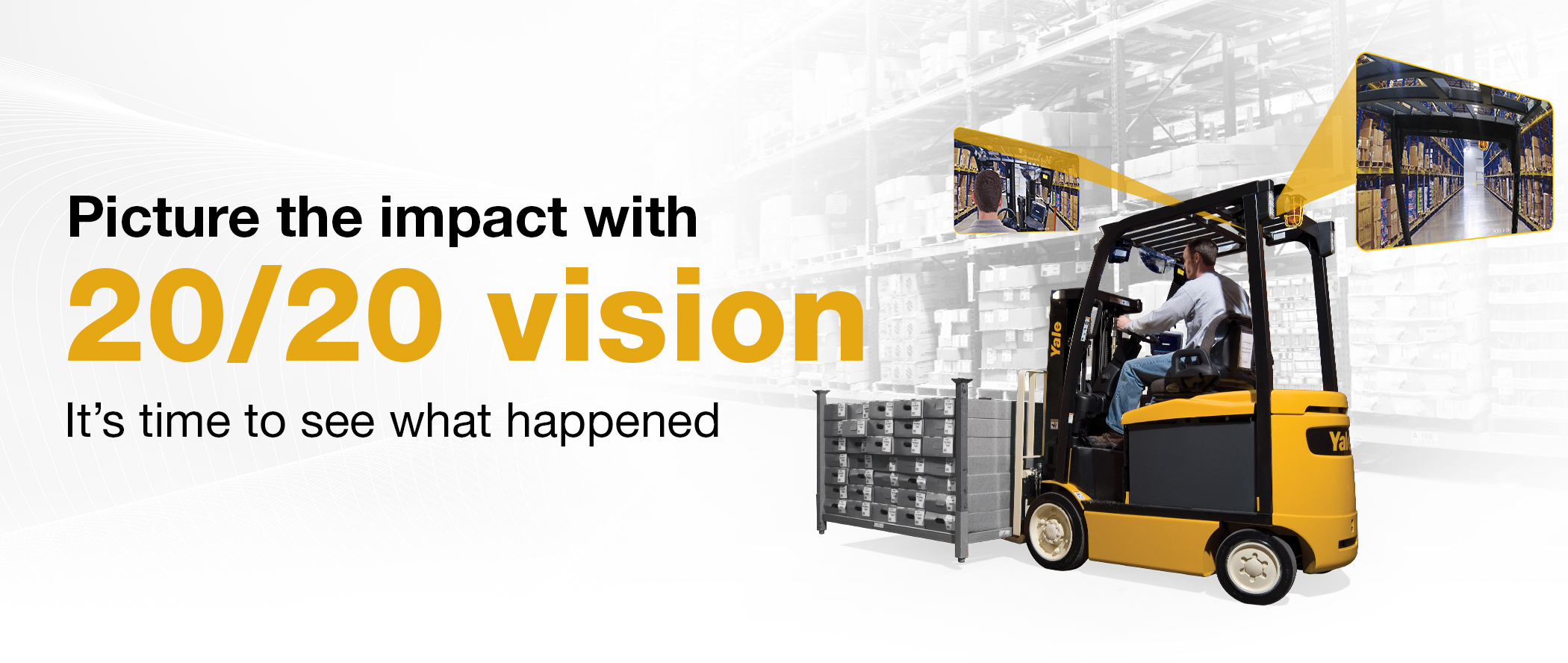 Hyster Tracker Impact Camera Solution Image