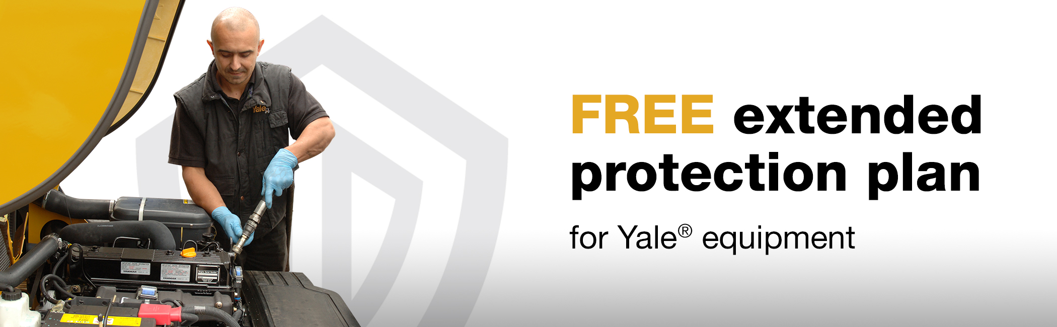 Free Extended Protection Plan for Yale Equipment